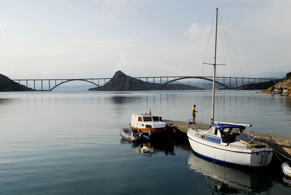 Die Brücke nach Krk