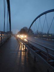 Die Brücke nach Rheine. ...