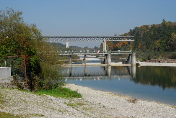 Die Brücke von Grosshesselohe