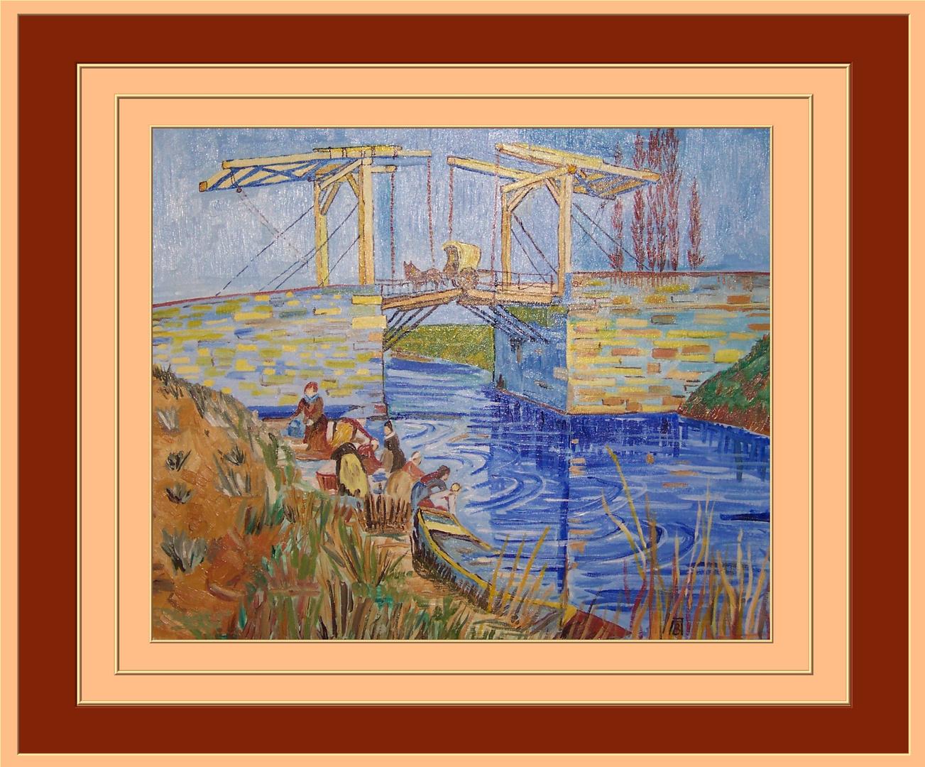 Die Brücke von Langlois