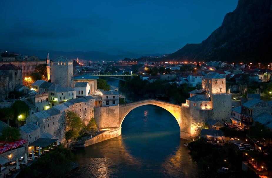 Die Brücke von Mostar - Danke an Muamer Hujdur