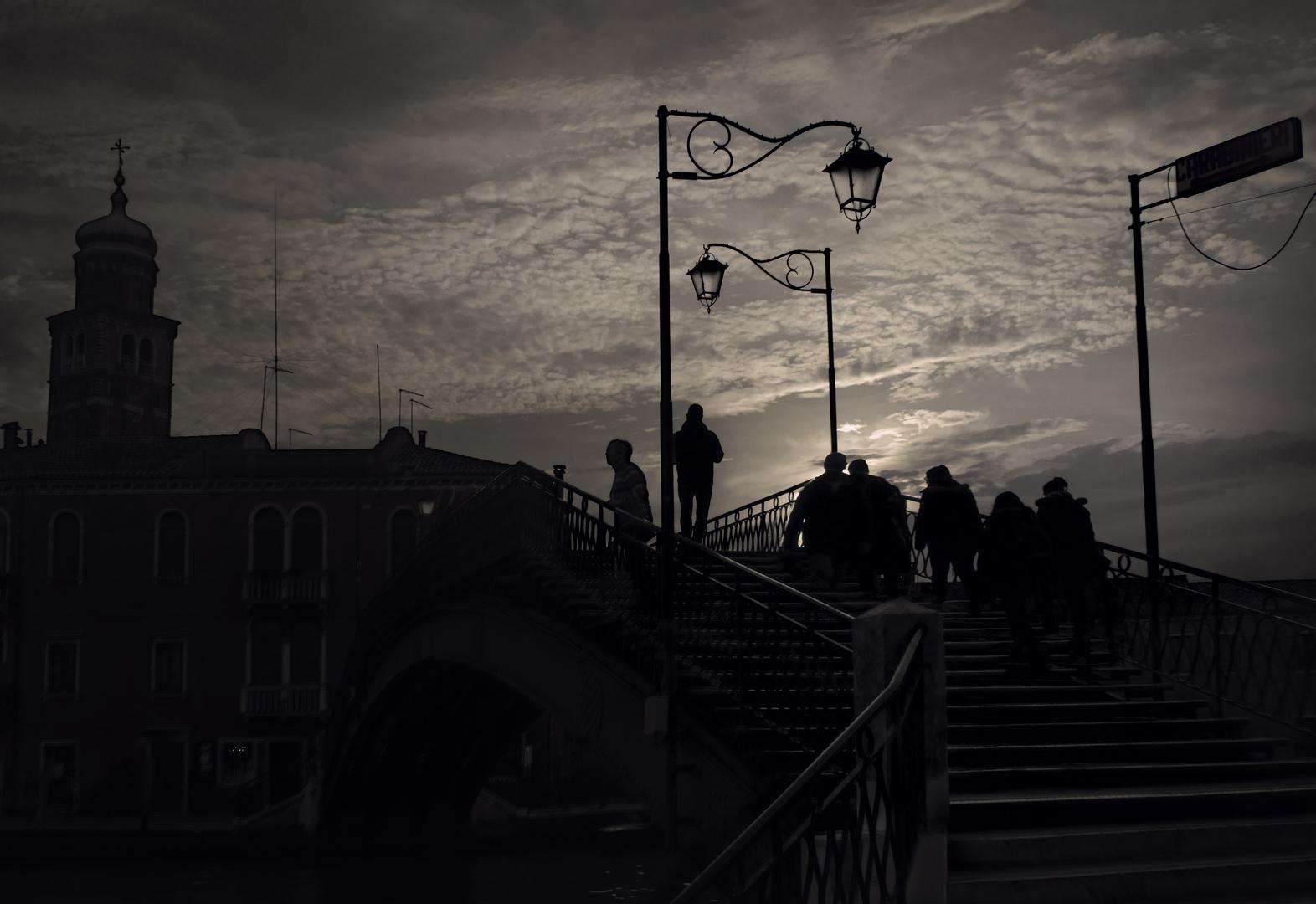 Die Brücke von Murano