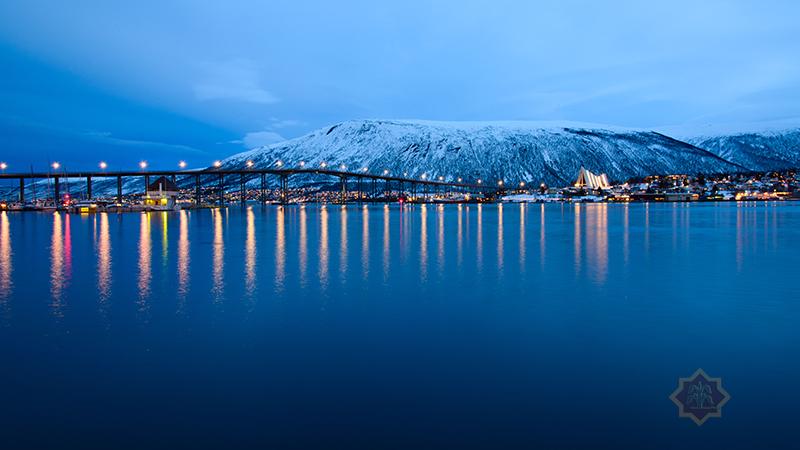 Die Brücke von Tromsö