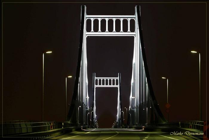 Die Brücke von Uerdingen