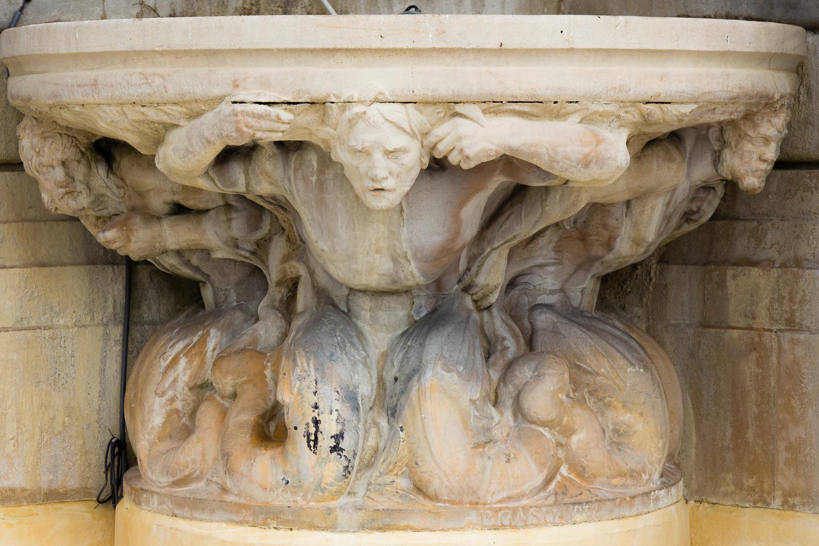 Die Brunnen von Sacre Coeur