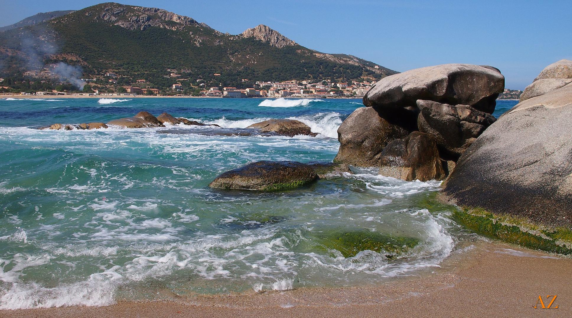 Die Bucht von Algajola