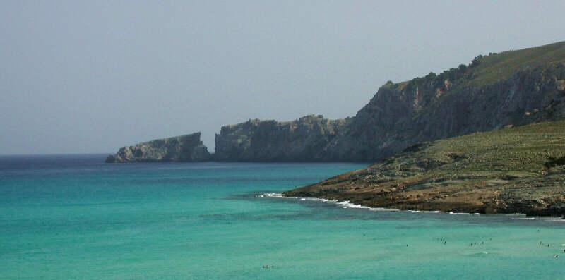 Die Bucht von Cala Mezquida auf Mallorca