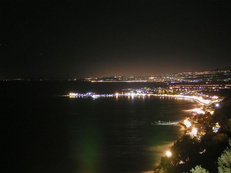 Die Bucht von Giardini-Naxos