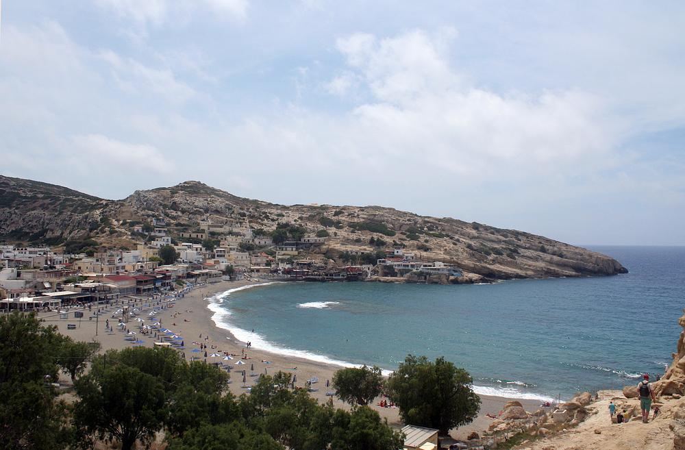 Die Bucht von Matala