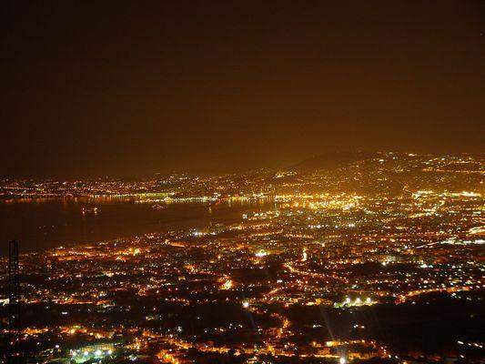 Die Bucht von Napoli vom Vesuv fotogafiert