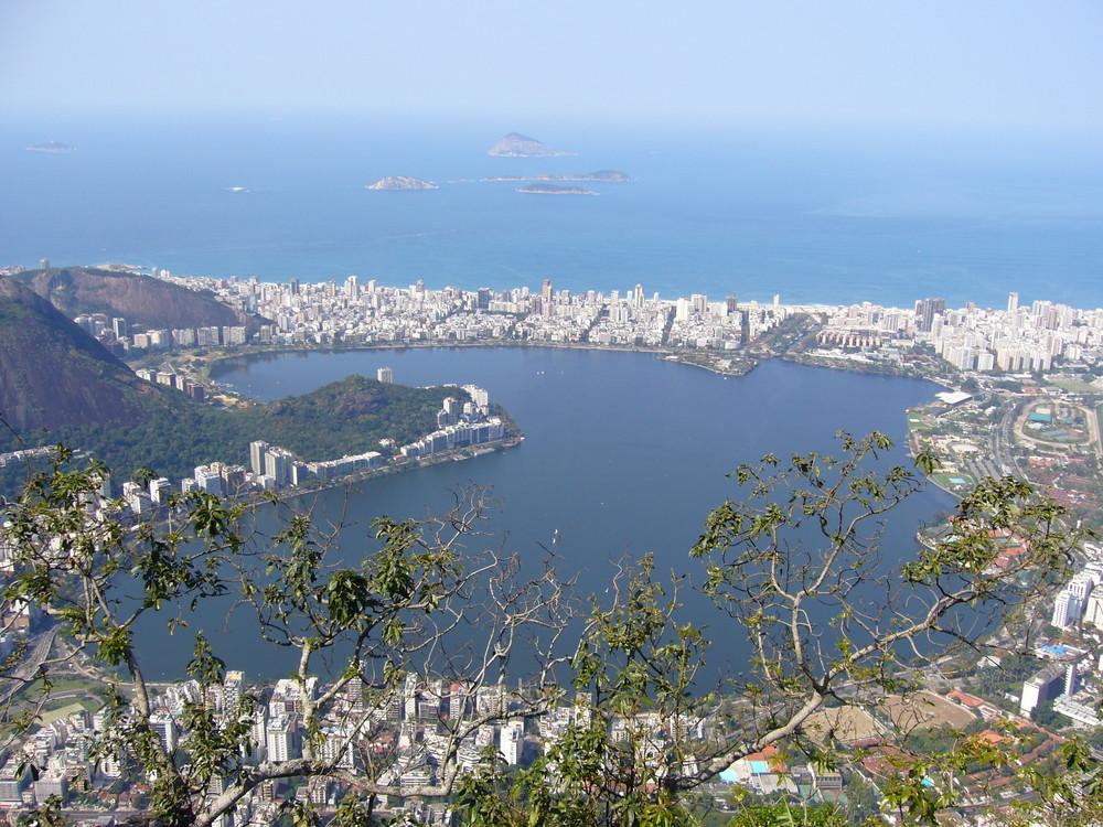 Die Bucht von Rio de Janero