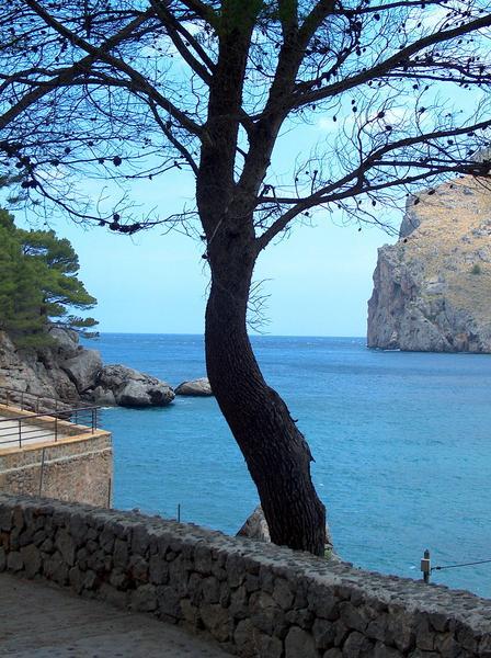 Die Bucht von Sa Calobra