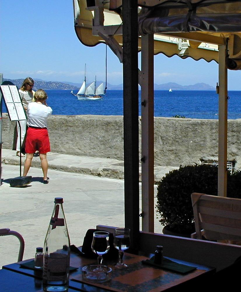 Die Bucht von St Tropez