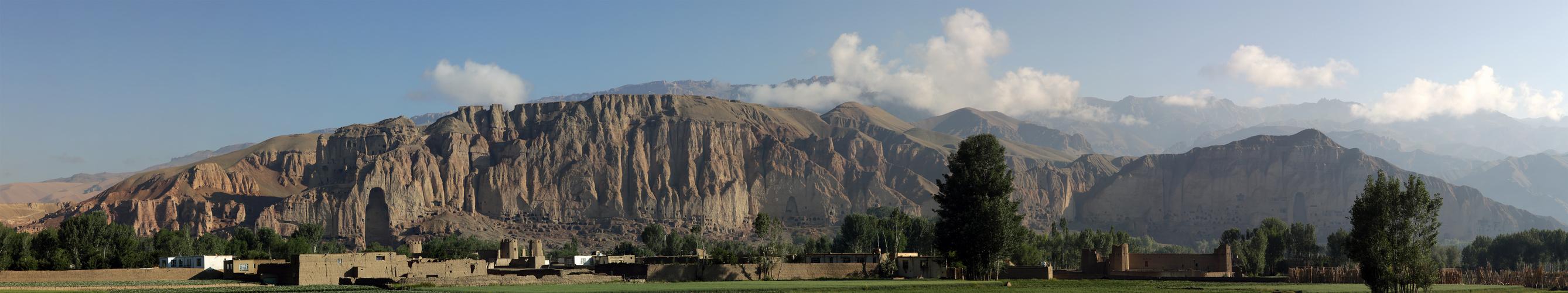 Die Buddhafelsen von Bamyan
