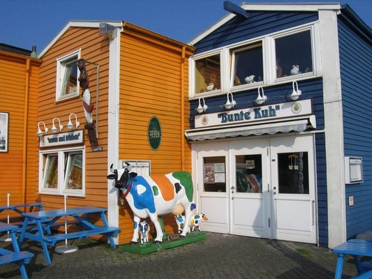 Die bunte Kuh - Helgoland
