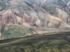 die bunten Berge von Landmannalaugar