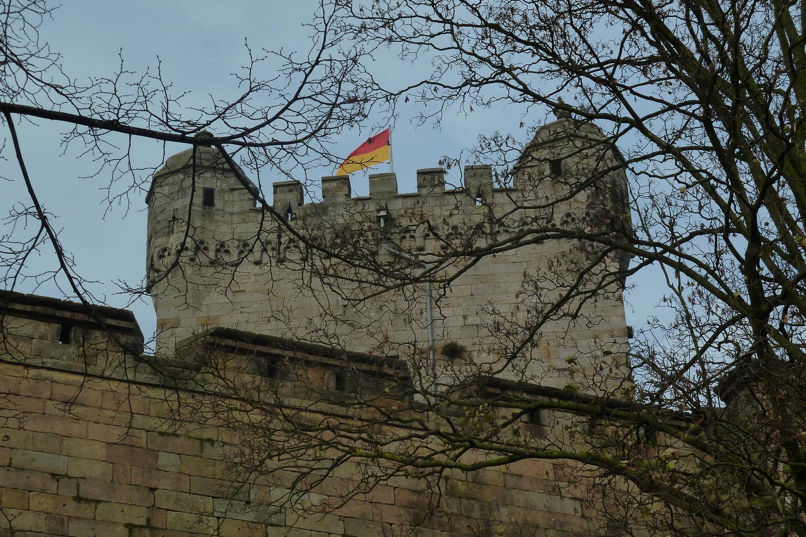 Die Burg Bentheim (Detailansicht)