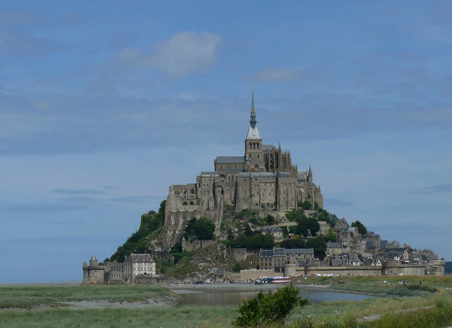 Frankreich Burg Im Meer