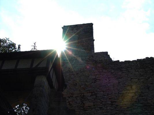 Die Burg im Schatten