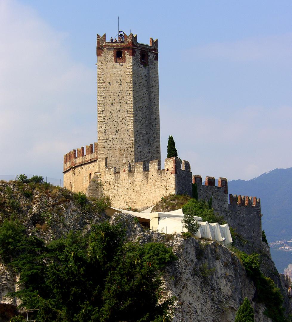 ...die Burg in Malcesine