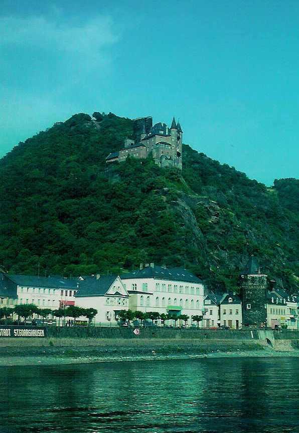 Die Burg Katz in Sankt Goarshausen (2)