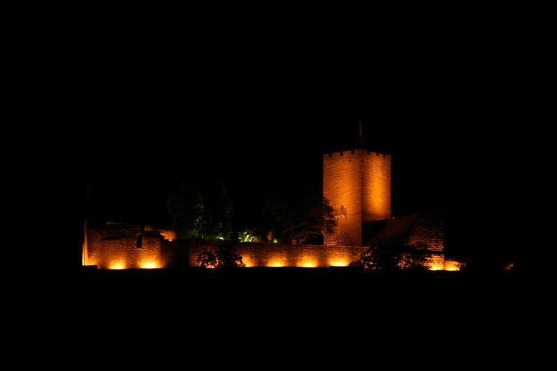 Die Burg Landeck bei Klingenmünster