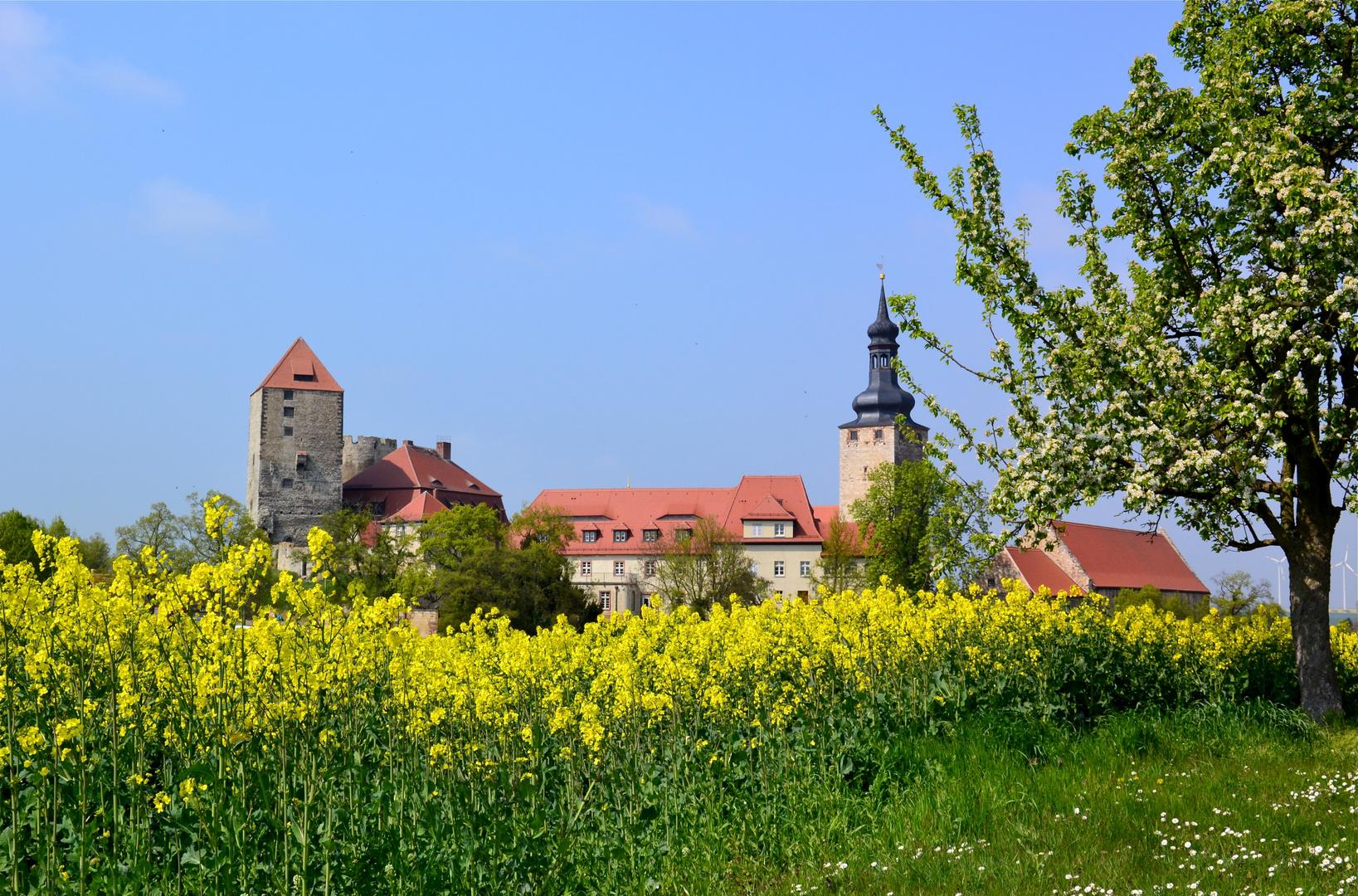 Die Burg Querfurt…