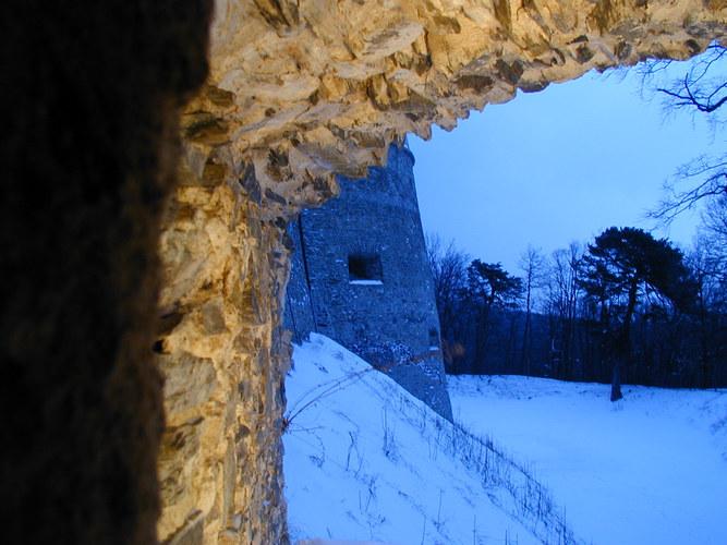 die Burg Rotenstein