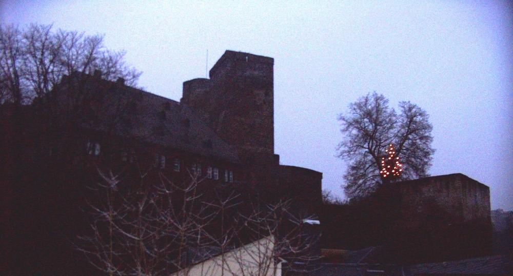 Die Burg Runkel heute...