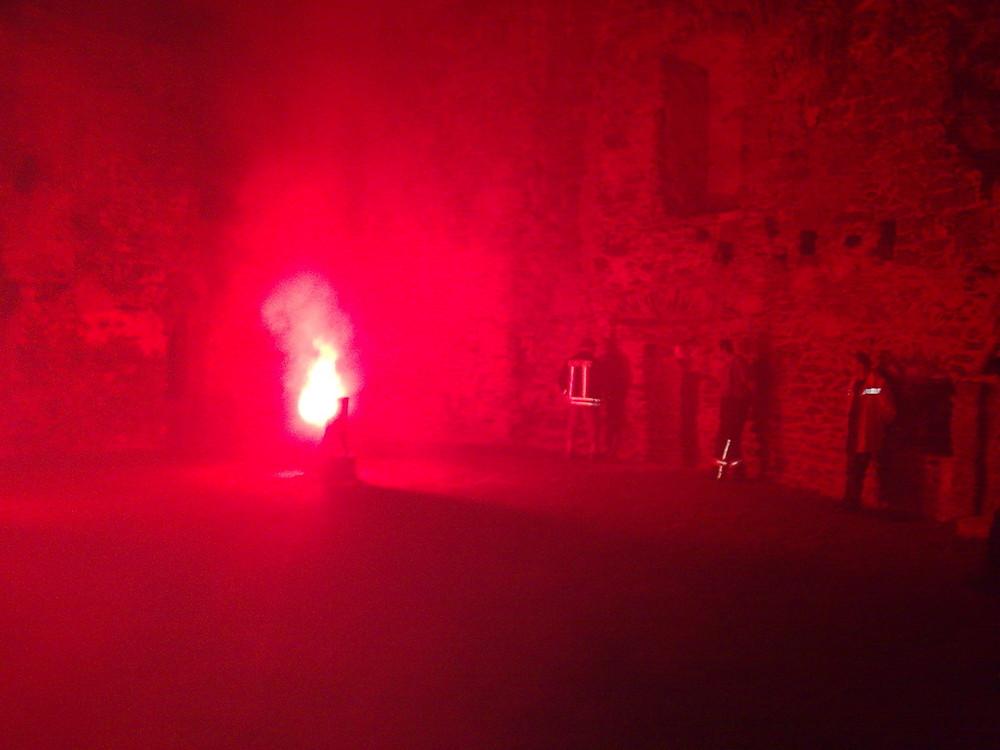 Die Burg Runkel in Flammen 2009 (8)