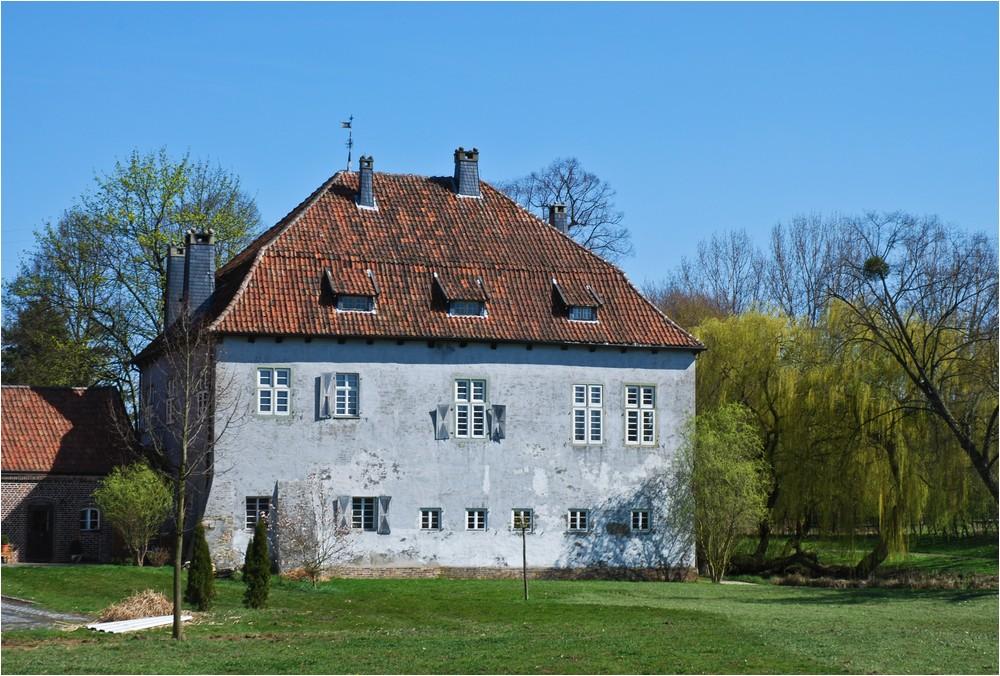 Die Burg Vellinghausen ...