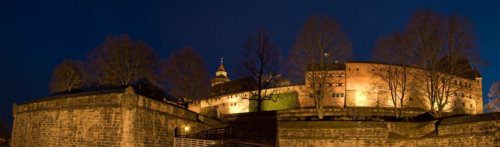 Die Burg von Nürnberg