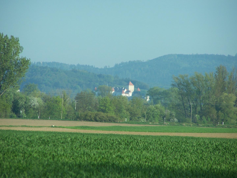 Die Burg von Wörth