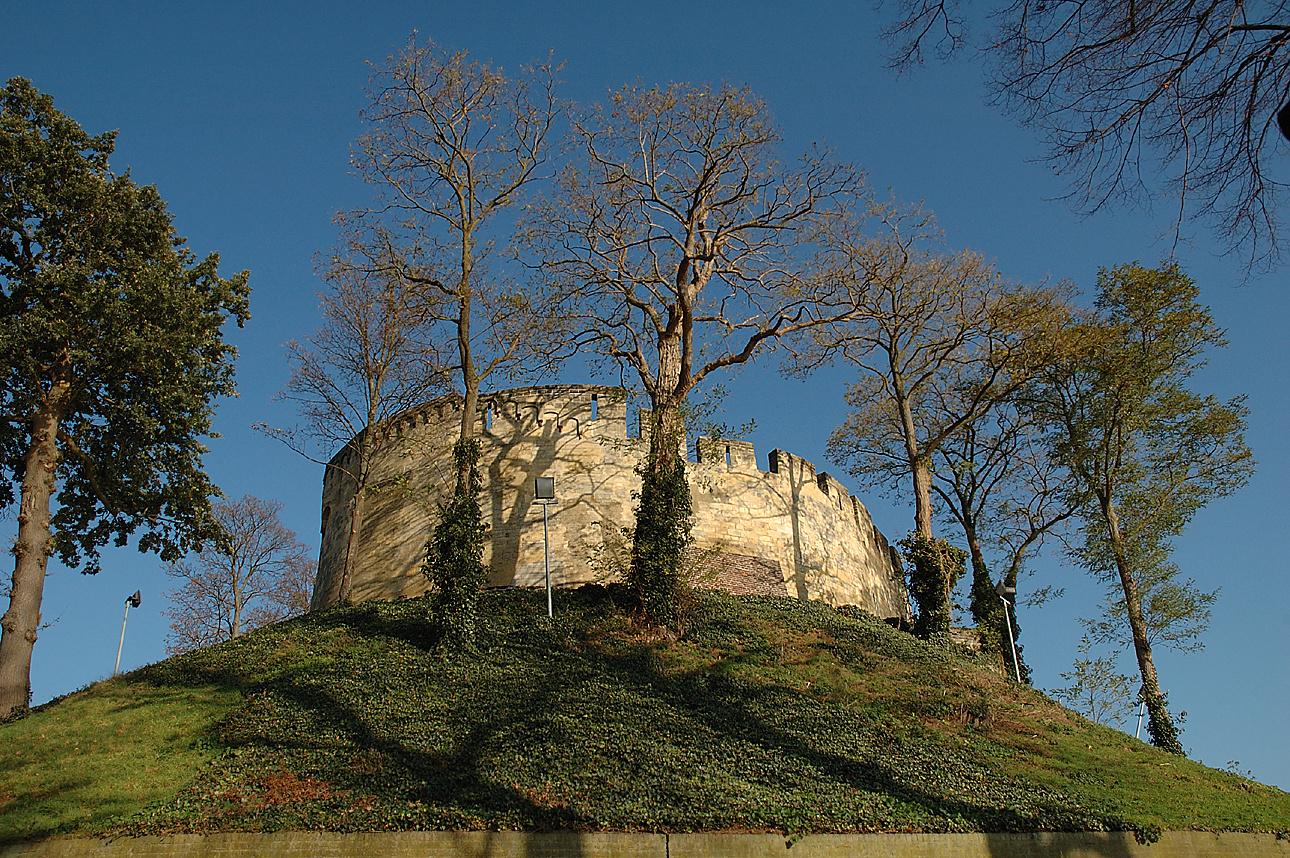Die Burg(ruine) von Kessel/NL