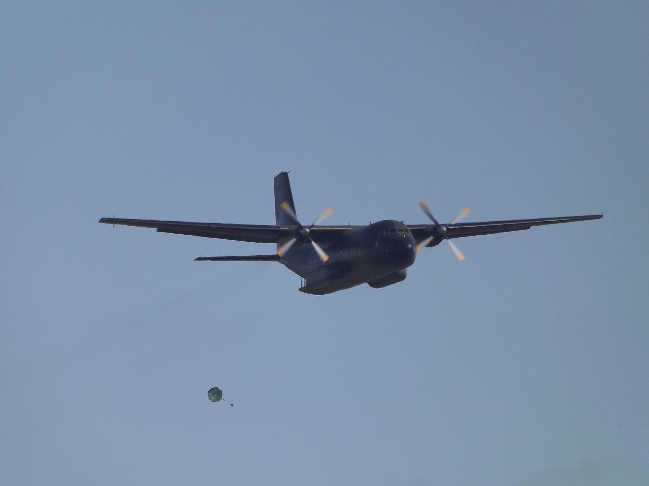 Die C-160 in Grün