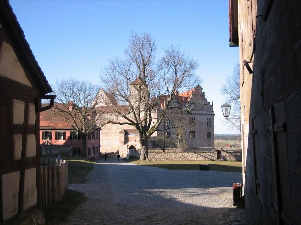 Die Cadolzburg in Cadolzburg