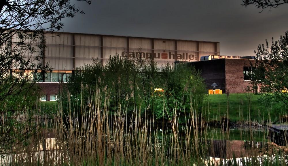 Die Campushalle in Flensburg --- bea aus 3 Bildern ---