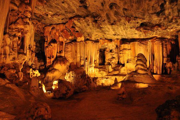 Die Cango Caves in der Nähe Oudshoorns...