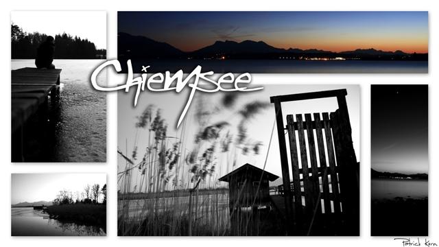 Die Chiemsee Collage