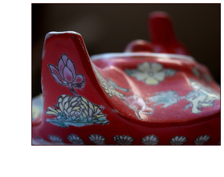 die chinesiche Teestunde ist beendet