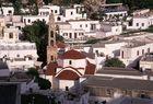 Die Chostos-Kirche in Lindos