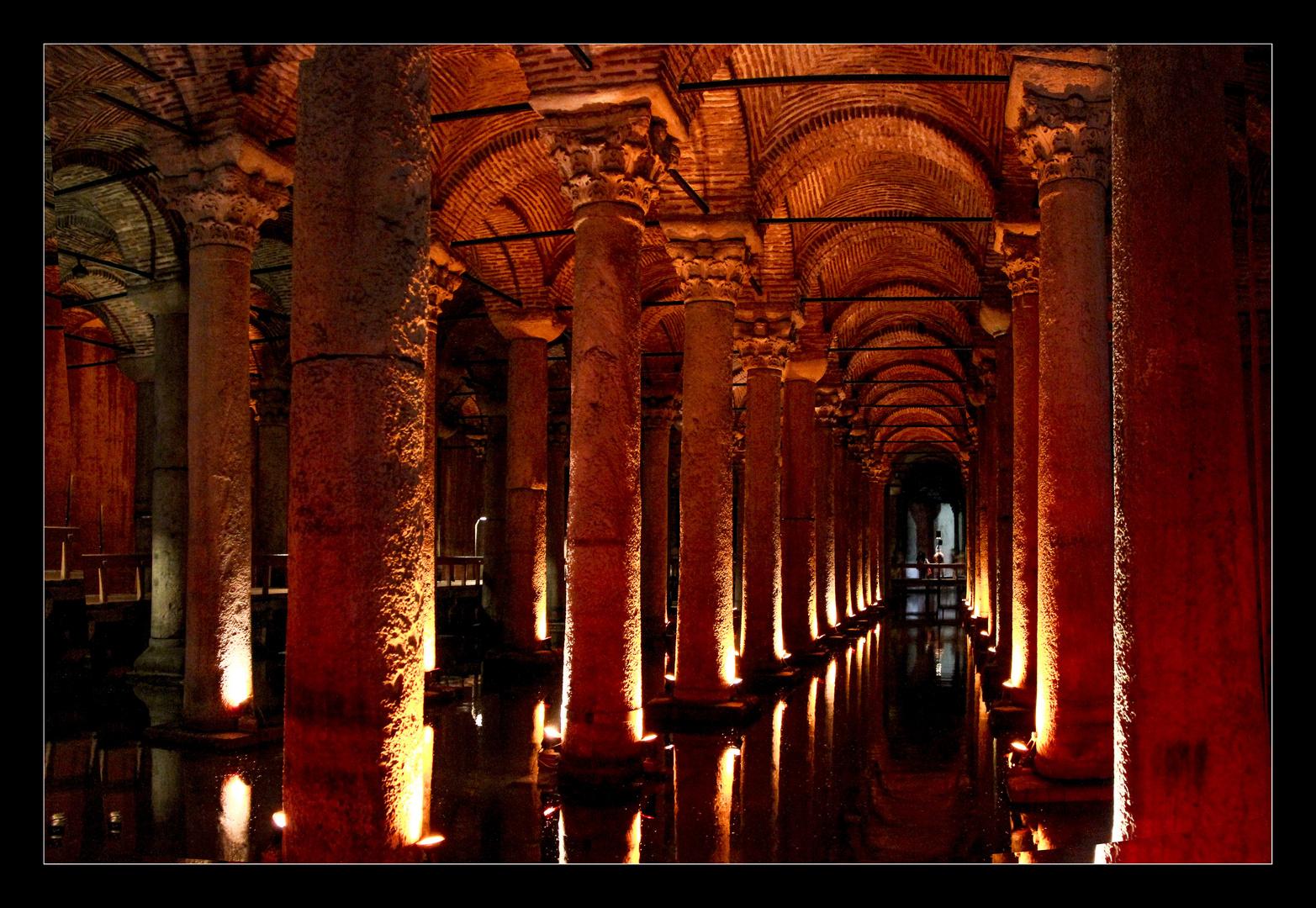 Die Cisterna Basilica
