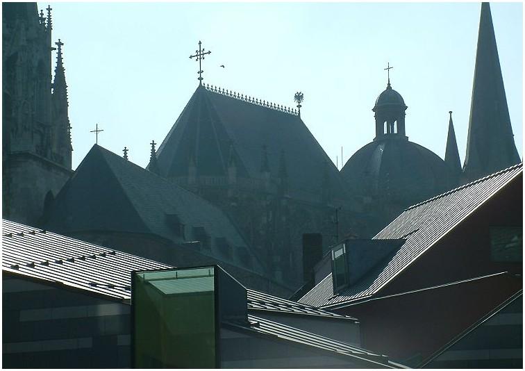 die Dächer von Aachen