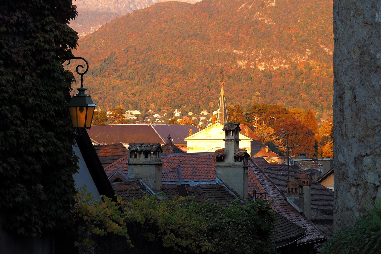 Die Dächer von Annecy
