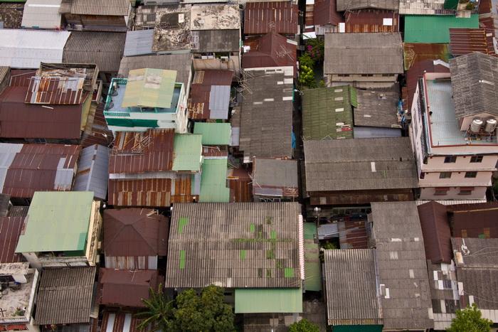 Die Dächer von Bangkok
