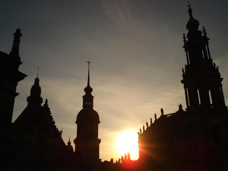 Die Dächer von Dresden