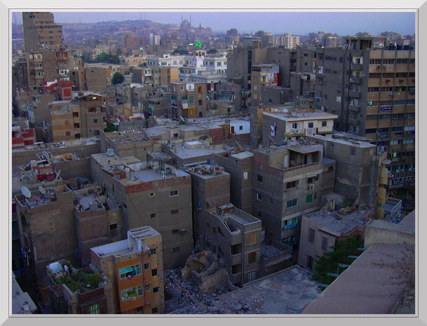 Die Dächer von Kairo