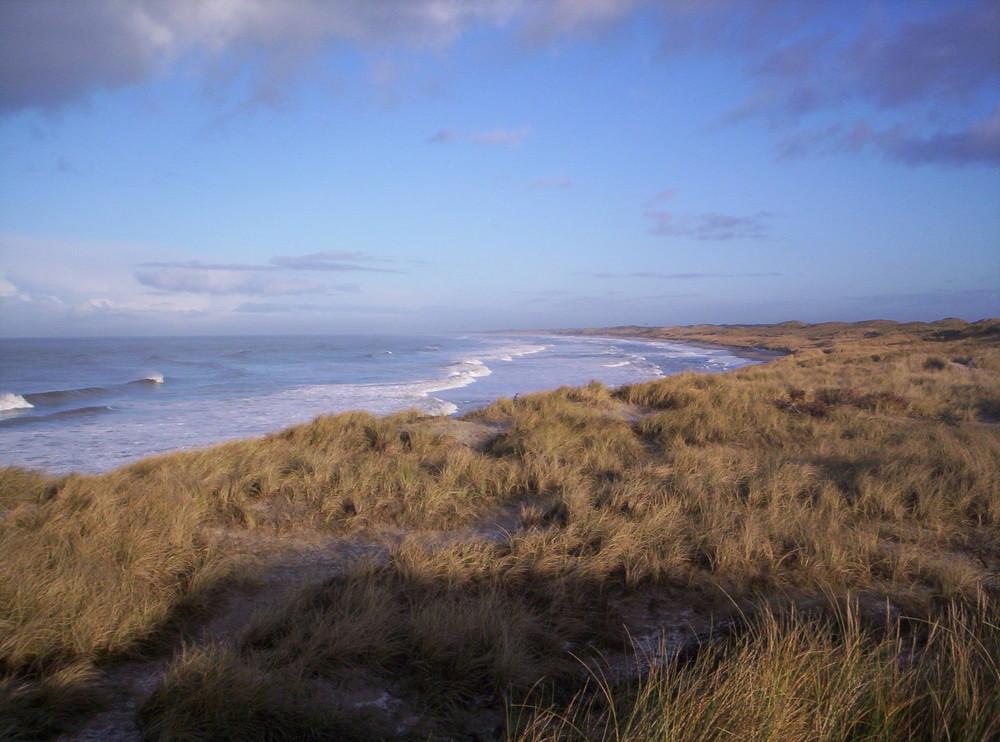 Die Dänische Nordseeküste