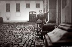 Die Dame im Regen