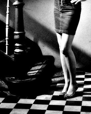 Die Dame Spielt Schach